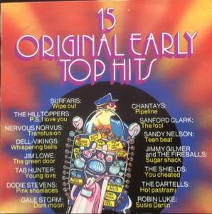 Cover - Sanford Clark: 15 Original Early Top Hits