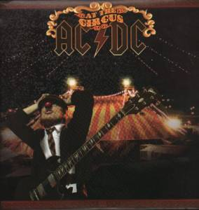 AC/DC: At The Circus - Cover