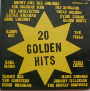 Cover - Rock-A-Teens, The: 20 Golden Hits