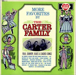 Cover - Carter Family, The: More Favorites By The Carter Family