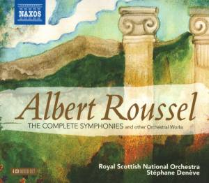 Cover - Albert Roussel: Complete Symphonies And Other Orchestral Works, The
