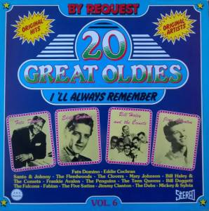Cover - Dubs, The: 20 Great Oldies I'll Always Remember Vol. 6