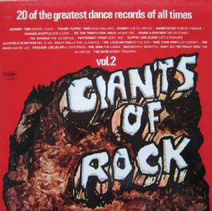 Giants Of Rock Vol.2 (20 Of The Greatest Dance Records Of All Times) - Cover
