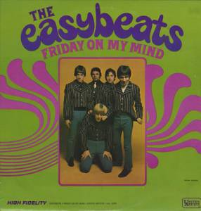 Cover - Easybeats, The: Friday On My Mind