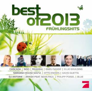 Cover - Arash: Best Of 2013 - Frühlingshits