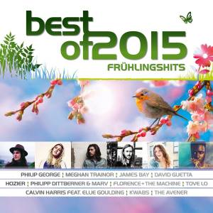 Cover - Philip George: Best Of 2015 - Frühlingshits
