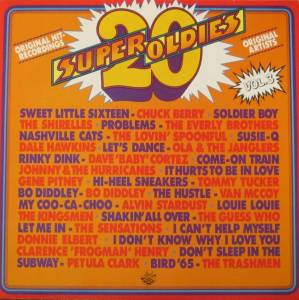 Cover - Sensations, The: 20 Super Oldies Vol. 3