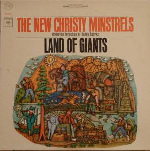 Cover - New Christy Minstrels: Land Of Giants