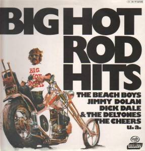 Cover - Robert Mitchum: Big Hot Rod Hits