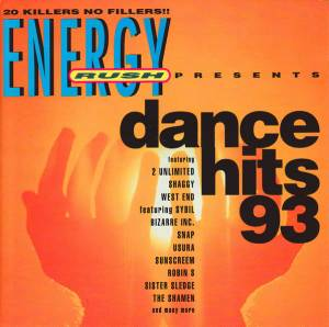 Cover - Time Frequency, The: Energy Rush Present Dance Hits 93