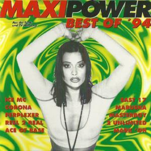 Maxi Power - Best Of '94 - Cover