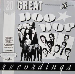 Cover - Jive Five, The: 20 Great Doo Wop Recordings