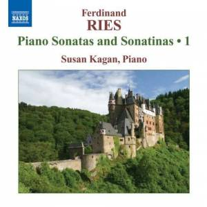 Cover - Ferdinand Ries: Piano Sonatas And Sonatinas 1