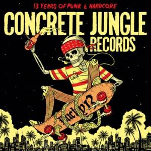 Cover - Revolvers, The: Concrete Jungle Records - Lucky 13