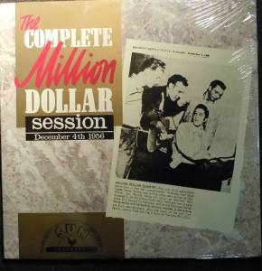 Cover - Million Dollar Quartet, The: Complete Million Dollar Session / December 4th 1956, The
