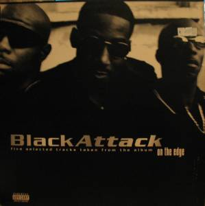 "Cover - Black Attack: Five Selected Tracks Taken From The Album ""On The Edge"""