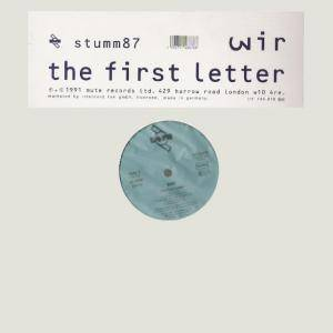 Wir: First Letter, The - Cover