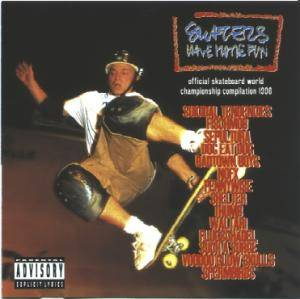 Cover - Power Of Expression: Skaters Have More Fun - Official Skateboard World Championship Compilation 1996