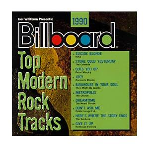 Billboard - Top Modern Rock Tracks 1990 - Cover