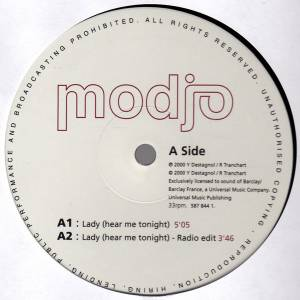 "Modjo: Lady (Hear Me Tonight) (12"") - Bild 3"