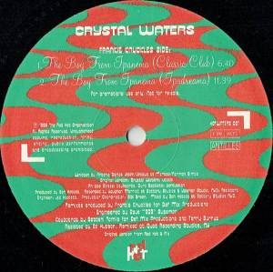 "Crystal Waters: The Boy From Ipanema (Promo-12"") - Bild 1"