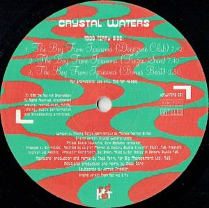 "Crystal Waters: The Boy From Ipanema (Promo-12"") - Bild 2"