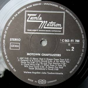Motown Chartbusters With The Tamla Motown Story (LP) - Bild 7