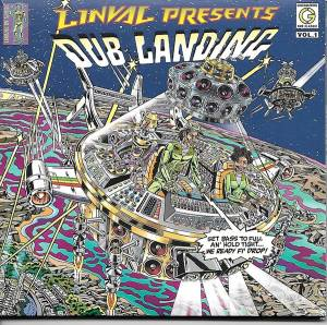 Cover - Barry Brown: Linval Presents: Dub Landing