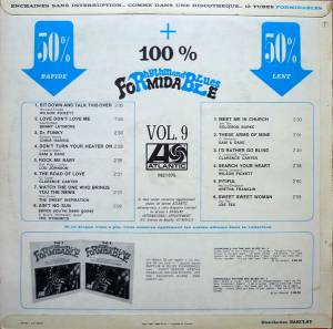 Rhythm And Blues Formidable Vol. 9 (LP) - Bild 2