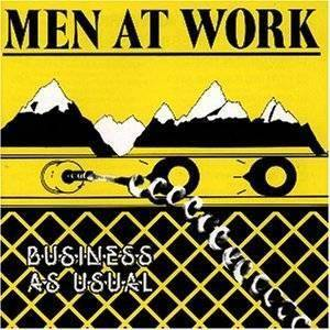 Men At Work: Business As Usual (LP) - Bild 1