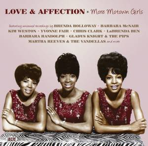 Cover - Barbara McNair: Love & Affection - More Motown Girls