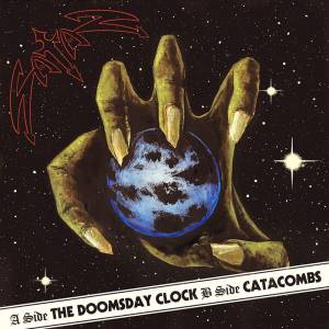 Cover - Satan: Doomsday Clock / Catacombs, The