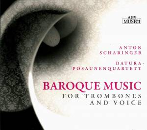 Cover - Johann Rudolph Ahle: Baroque Music For Trombones And Voice