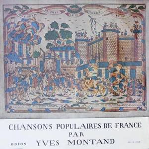 Cover - Yves Montand: Chansons Populaires De France