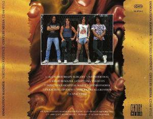 Demolition Hammer: Tortured Existence (CD) - Bild 2