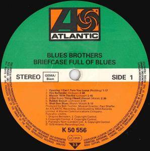 The Blues Brothers: Briefcase Full Of Blues (LP) - Bild 3