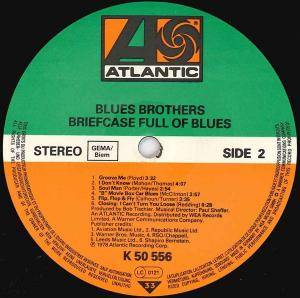 The Blues Brothers: Briefcase Full Of Blues (LP) - Bild 4