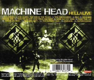 Machine Head: Hellalive (CD) - Bild 2