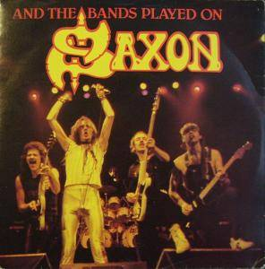 Saxon: And The Bands Played On - Cover