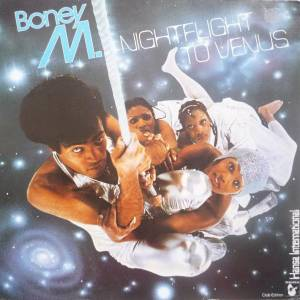 Cover - Boney M.: Nightflight To Venus
