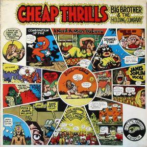 Big Brother & The Holding Company: Cheap Thrills - Cover