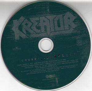 Kreator: Cause For Conflict (CD) - Bild 3