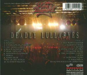 King Diamond: Deadly Lullabyes Live (2-CD) - Bild 2