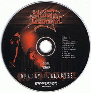 King Diamond: Deadly Lullabyes Live (2-CD) - Bild 3