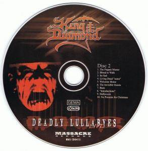 King Diamond: Deadly Lullabyes Live (2-CD) - Bild 4