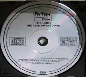 The Cure: The Head On The Door (CD) - Bild 3