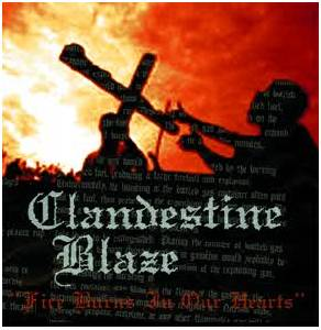 Clandestine Blaze: Fire Burns In Our Hearts - Cover