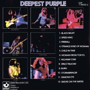 Deep Purple: Deepest Purple - The Very Best Of Deep Purple (CD) - Bild 2