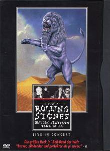 The Rolling Stones: Bridges To Babylon Tour '97-98 - Cover