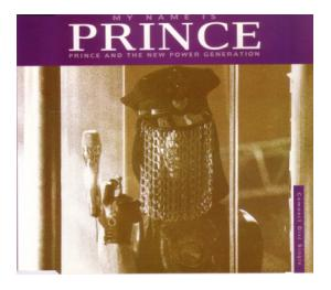 Prince & The New Power Generation: My Name Is Prince - Cover